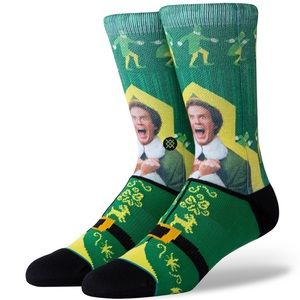 Stance ELF I Know Him Crew Height Sock